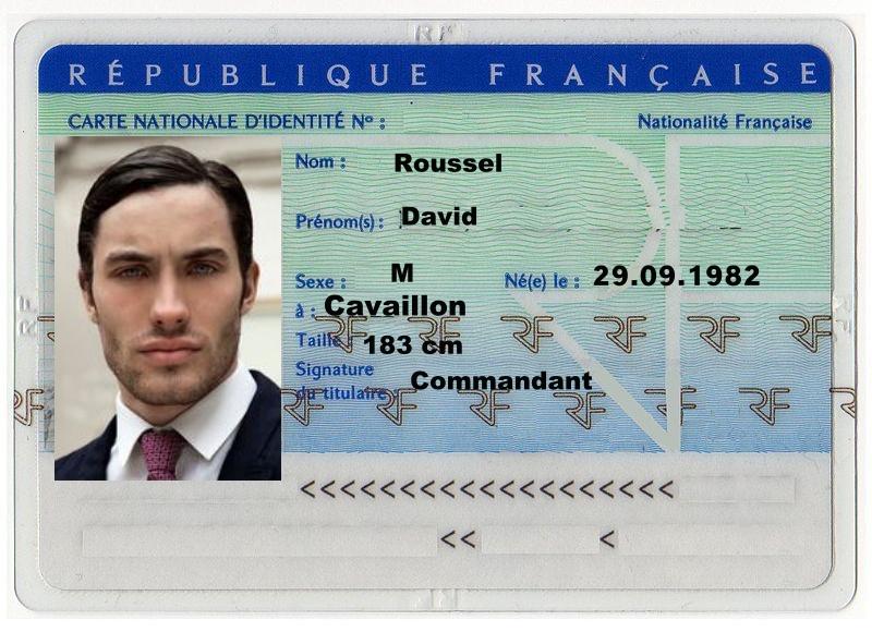carta d'identità di David