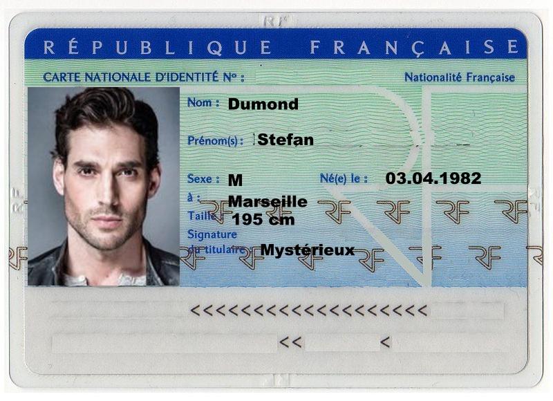 CArta d'identità di Stefan