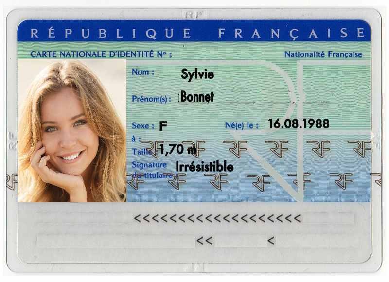 Carta d'Identità Sylvie